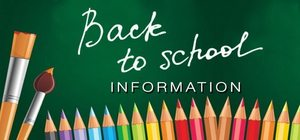 Back to School Dates and Info