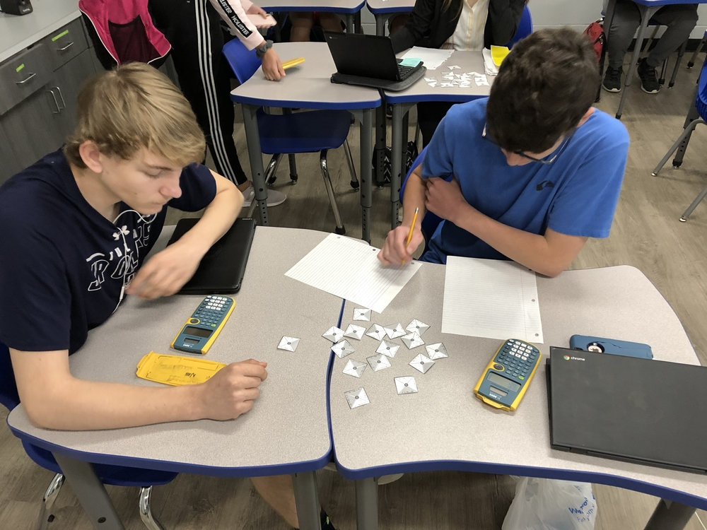 Mrs. Holt's Geometry Classes Review Factoring with Puzzles