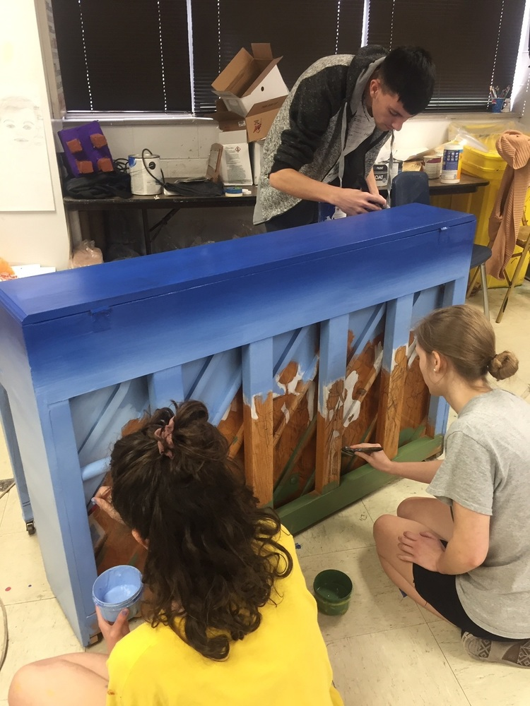 BHS Participates in Piano Art Project