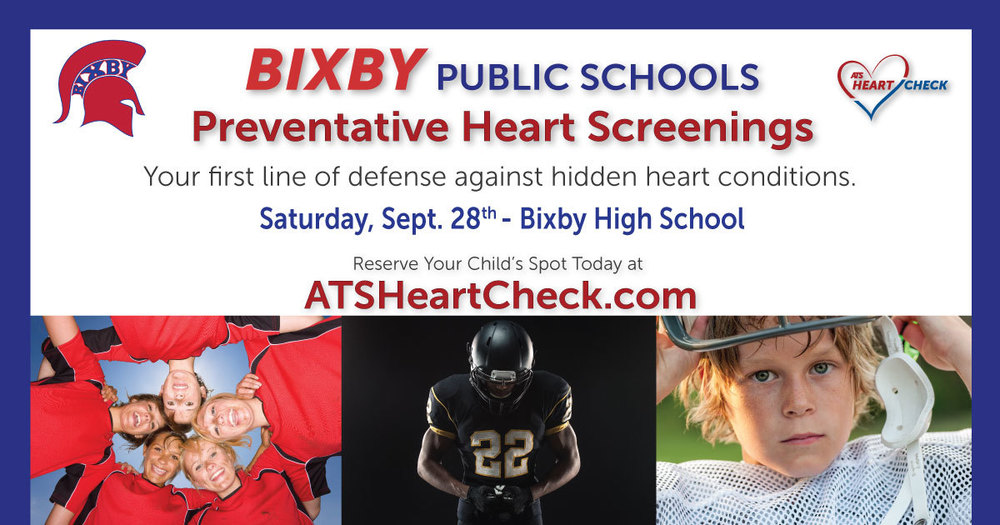 Heart Screenings Provided by ATS: 9/28