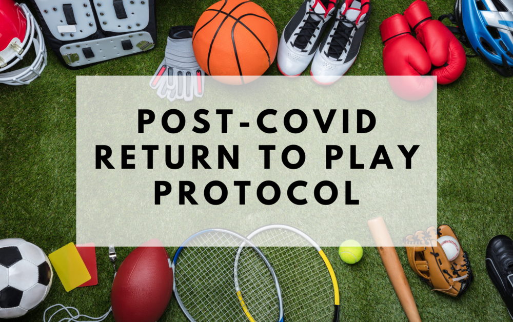 Post-COVID Return to Play Protocol