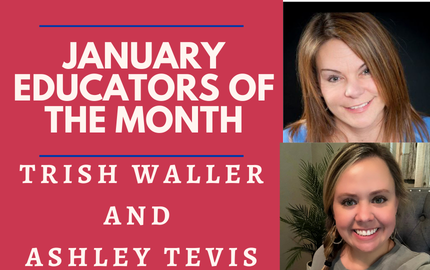 January Educators of the Month
