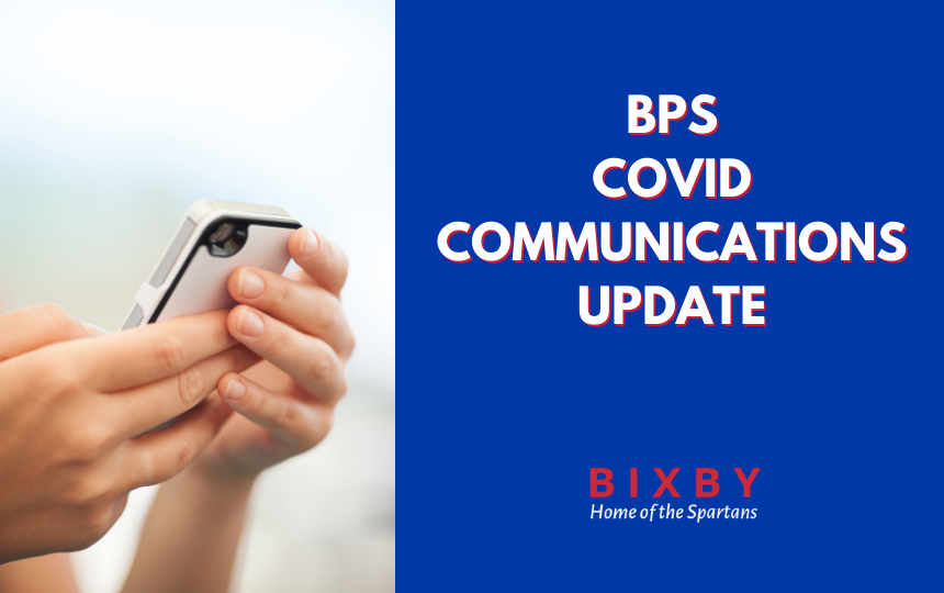 BPS COVID Communications Update