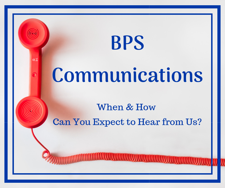 Stay Connected with BPS