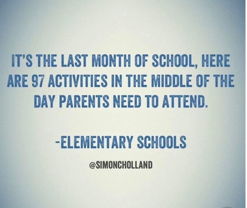 End of Year Activity Dates