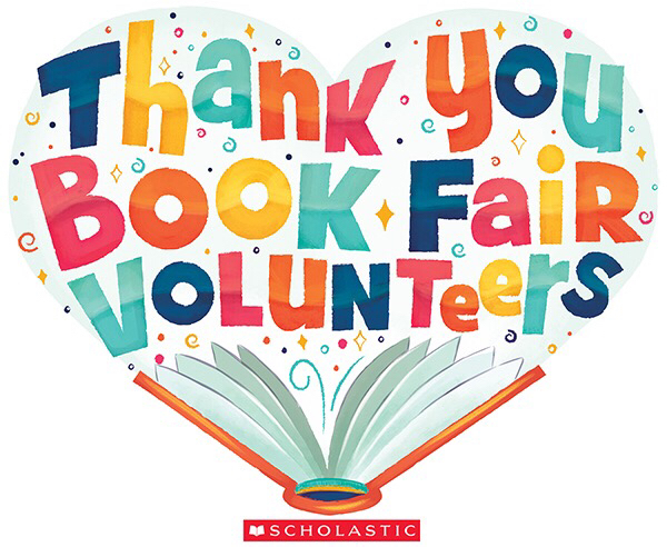Book Fair Volunteers Needed!!