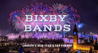 The Pride of Bixby will step out on the international stage January  1st 2019 in London, England @6am CST.