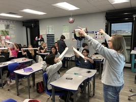 Mrs. Holt's Pre-AP Geometry Students Create Mobis Strips