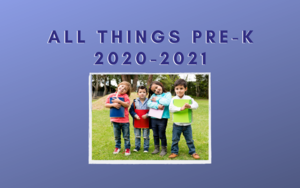 All Things Pre-K 2020-2021