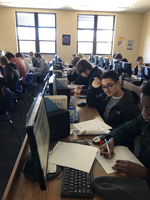 Mrs. Upshaw's Computer Classes begin their unit on Computer Science and Programming