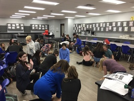 Biology Students Learn CPR