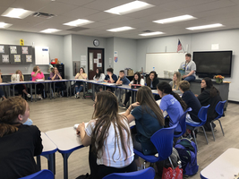 Mrs. Istre's Biology Classes held a Socratic Seminar over Biodiversity