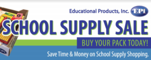 Online School Supply Sale