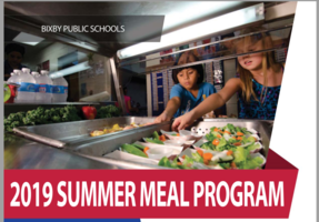2019 Summer Meal Program
