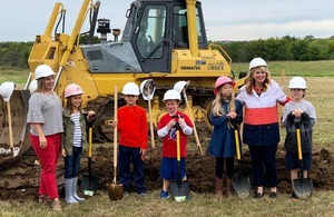 Bixby West Elementary Ground Breaking Held Sept. 26th