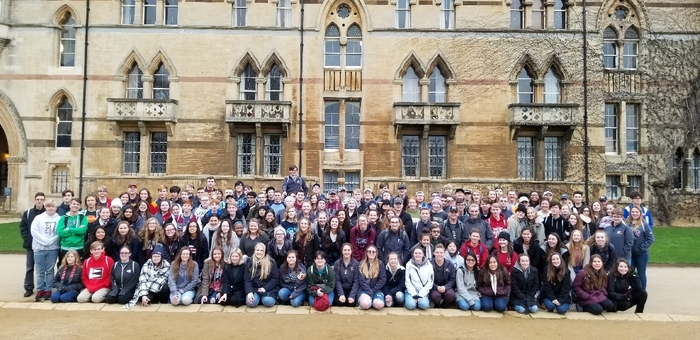 Pride of Bixby at Christ Church in Oxford