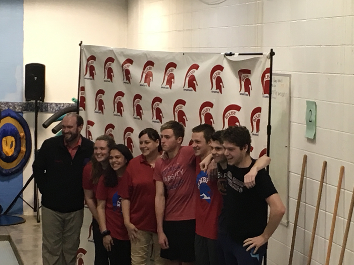Senior spartan swim team