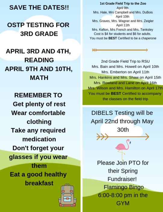 April Camp Fire News