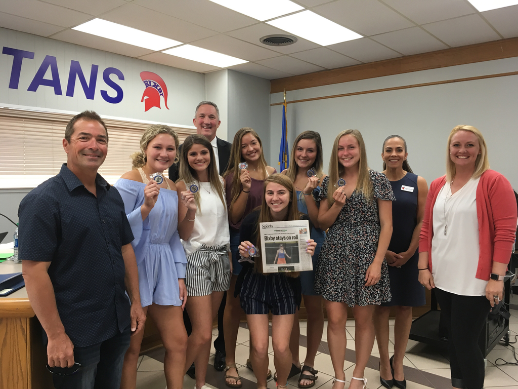 Two time State Champion Girls' Tennis Team
