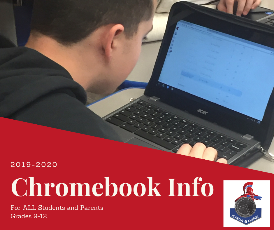 Chromebook Info for all high school parents and students