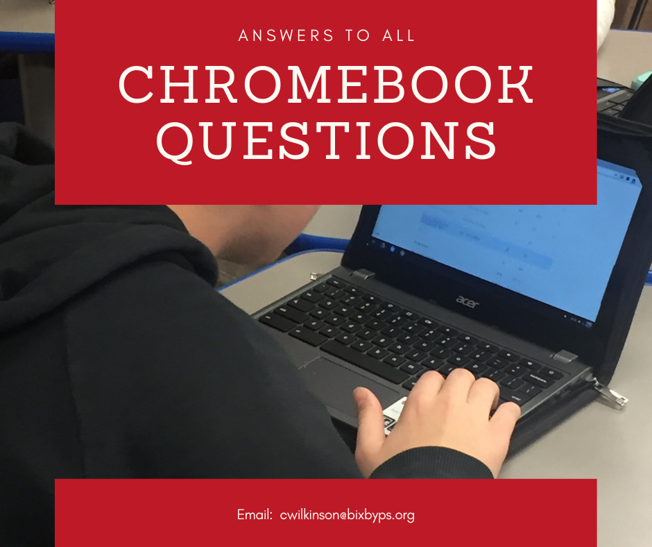 Answers to Chromebook Questions