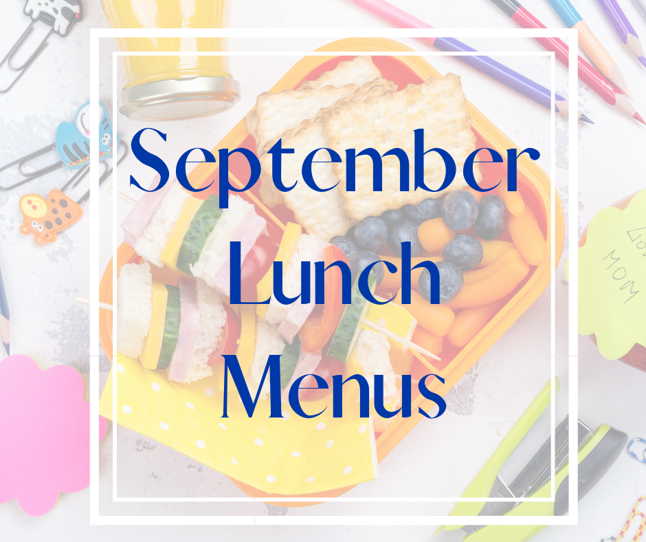 September Menus