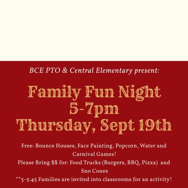 CE Family Fun Night