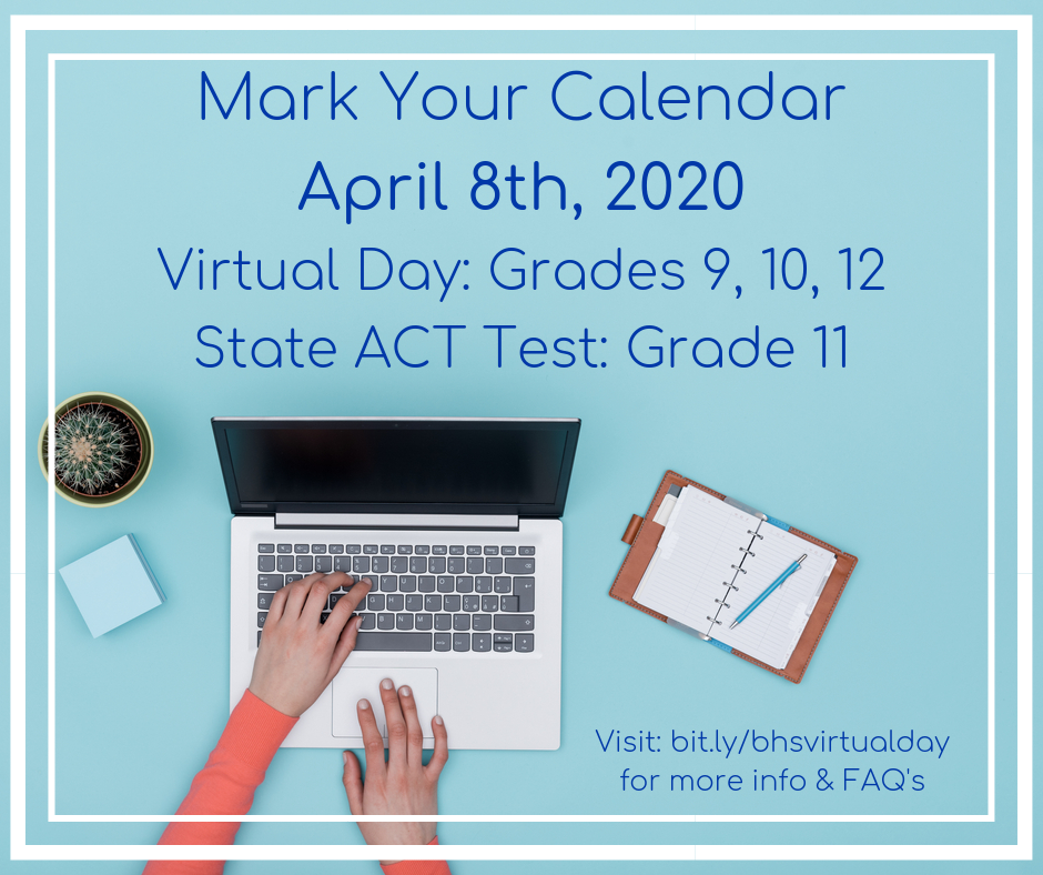 Virtual Day: Save the Date