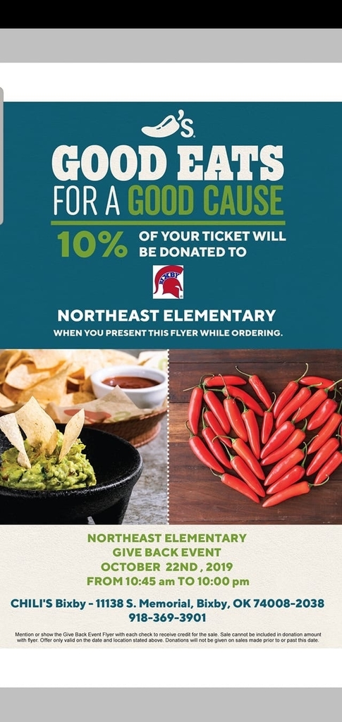 Chili's Gives Back to Northeast Elementary!