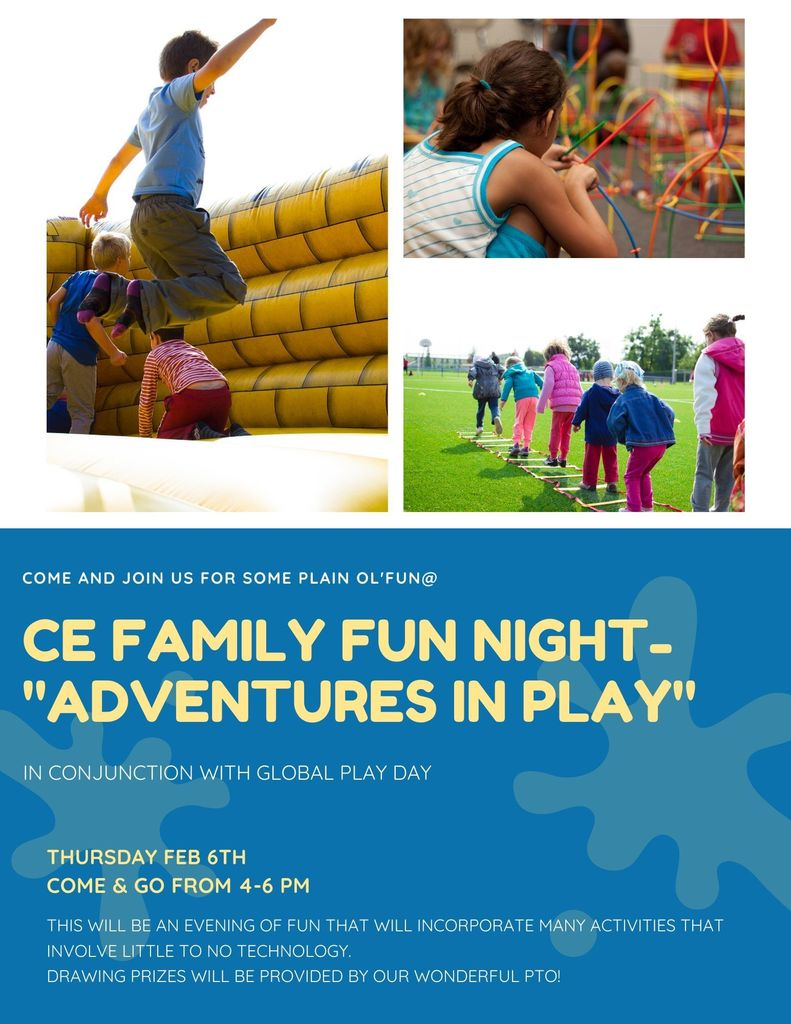 CE Family Fun Night - Adventures in Play