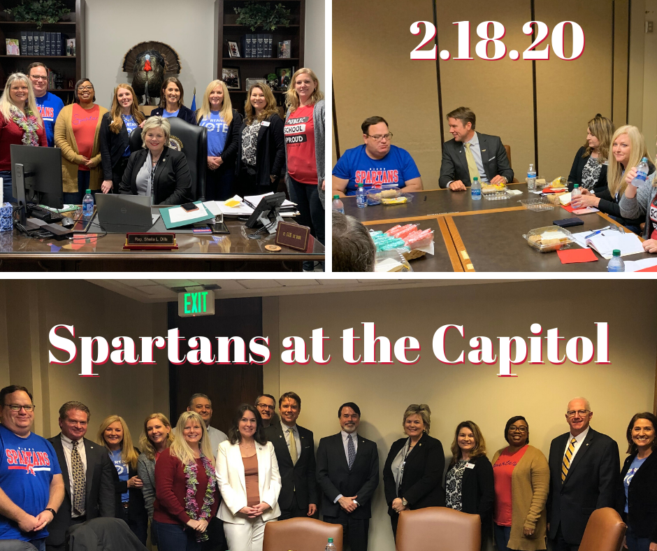 Spartans at the Cap 2/18
