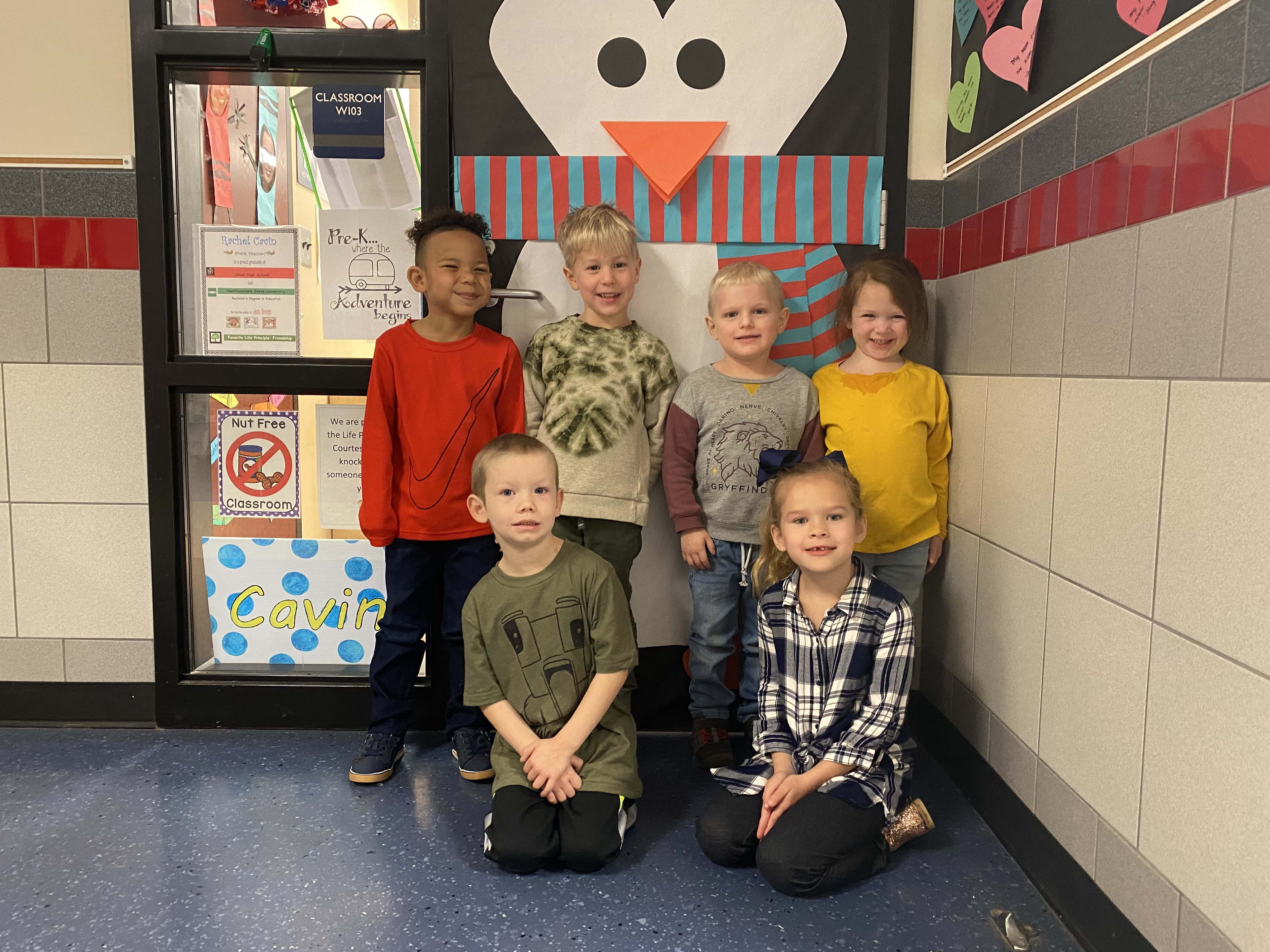 Mrs. Cavin's students enjoyed learning about winter wonderlands!